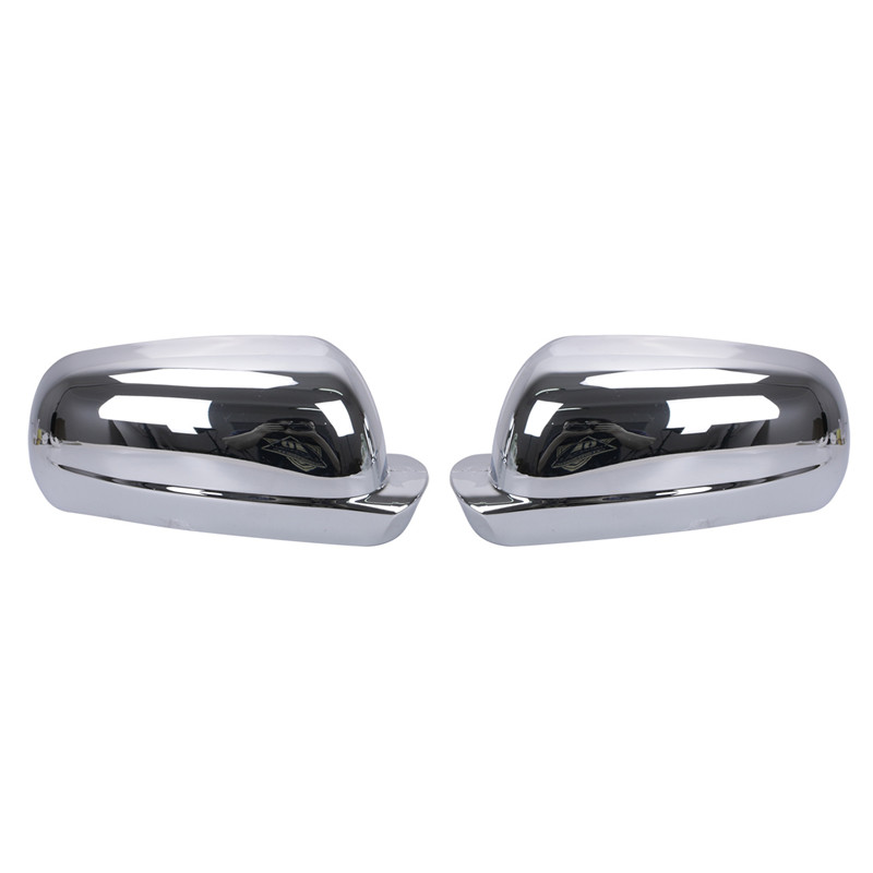 Left Right ABS Chrome Door plating Rear View Mirror Cover For VW Golf MK4 Jetta Passat