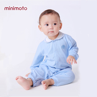 Long Sleeve Romper Baby Boy Jumpsuits Cotton Solid Infant Newborn Toddler Playsuit Onesies Button Casual Spring Autumn Clothes