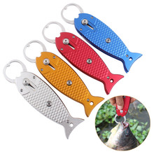 Portable Fish lip grabber gripper latest stainless steel fishing grip  controller tackle