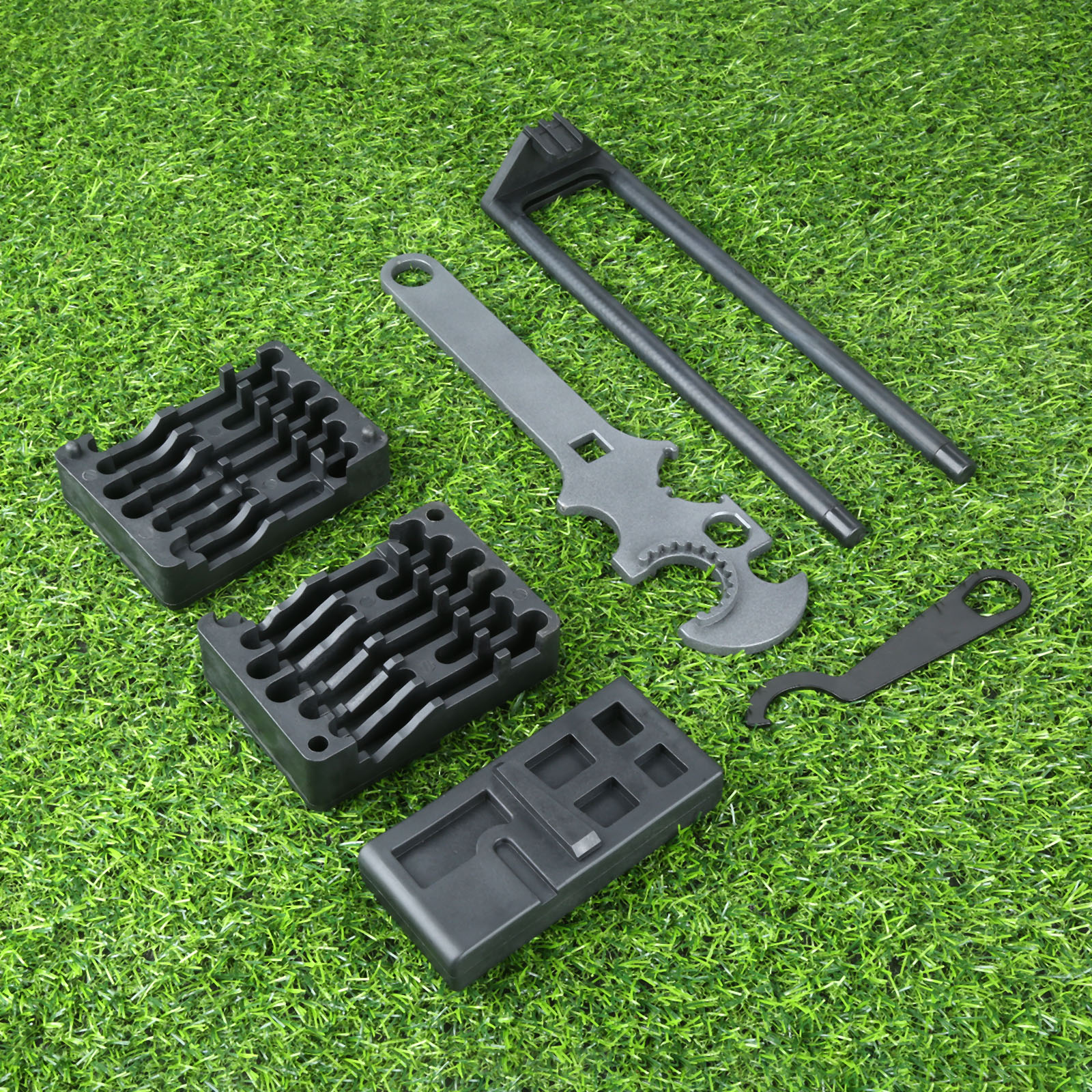 Tactical Professional 5pcs/Set Lower& Upper Vise Block & Wrench Tool AR15 Strong Portable Outdoor Tools Hunting Gun Accessories