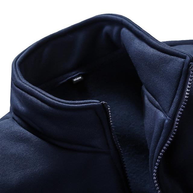 Autumn Sporting Suit Sweatshirt +Sweatpants 2 Pieces Mens Tracksuit 3