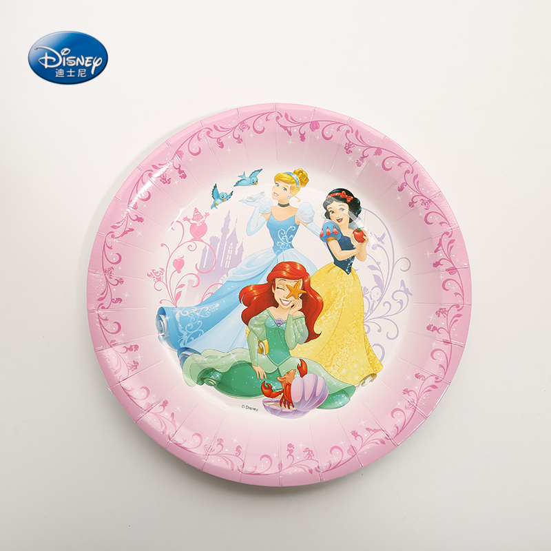 Aliexpress.com  Buy 9inch 6Pcs/Pack DISNEY Princess Theme Party Paper Plates Dish Decor Girls Happy Birthday Favors Party Plates Supplies from Reliable ... & Aliexpress.com : Buy 9inch 6Pcs/Pack DISNEY Princess Theme Party ...