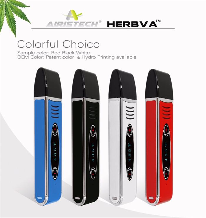 Original Airistech portable dry vaporizer Herbva 2200mAh Kit (2)