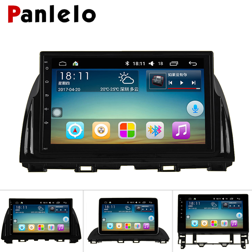Panlelo For <font><b>Mazda</b></font> CX-5 <font><b>Radio</b></font> GPS Android Auto <font><b>Radio</b></font> For <font><b>Mazda</b></font> <font><b>3</b></font> <font><b>2010</b></font> <font><b>Radio</b></font> For <font><b>Mazda</b></font> 6 Android 2006 1G RAM 16G ROM Build-in WIFI image