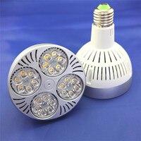 Free Shipping E27 40W Osram PAR30 LED light AC85 265V input USA driving IC 10pcs/lot 3 years warranty