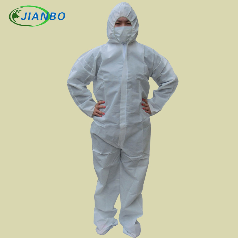 Disposable Protective Clothing SMS Nonwoven Fabric Thicker Coverall CleanRoom Dustproof Jumpsuit Garment With A Pair Of Feet 16 ports 3g sms modem bulk sms sending 3g modem pool sim5360 new module bulk sms sending device