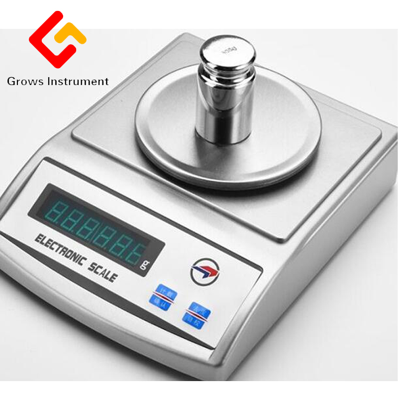 0.1 2000g High Precision Electronic Balance Digital Scale Experimental Analysis Of Balance Industrial Mini Weight Scale Gram