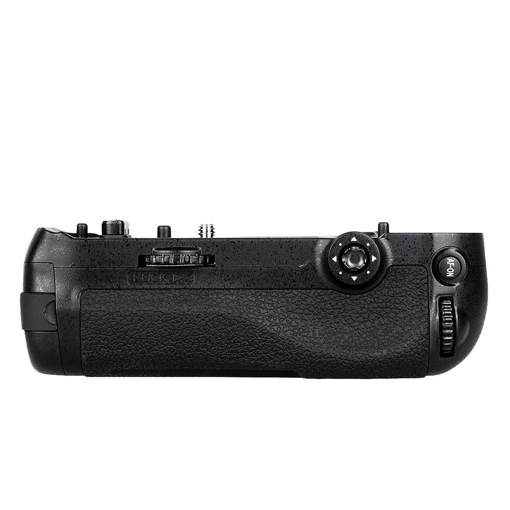 O aperto da bateria para o trabalho das câmeras d850 MB-D18 dslr de ai com a bateria EN-EL15/EN-EL15a ou 8xaa
