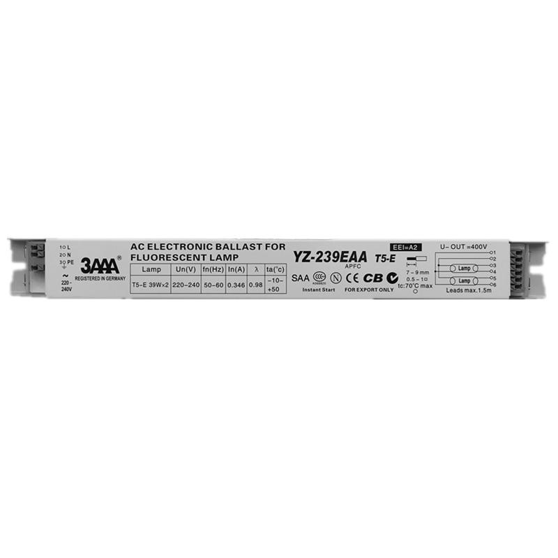 3AAA YZ-239EAA 220V 2*39W T5 Electronic Ballast For L290D Neon Lamp T5-E Fluorescent Lamp Advertising Light Box T5 39W Rectifier древпром стул древпром скалли 765 капитон черный t5 r fso0