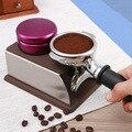 Adulteração de Café de Aço inoxidável pressionado pó martelo 58mm moedor de café coffee & tea ferramentas