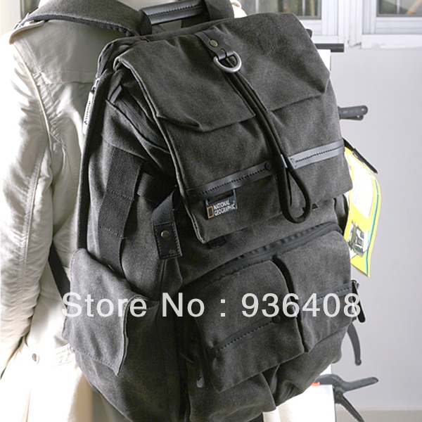 ecf6c2a71f7 National Geographic NG W5070 Walkabout 5070 double-shoulder DSLR Camera Rucksack  Backpack Laptop bag for Canon Nikon Sony Gray