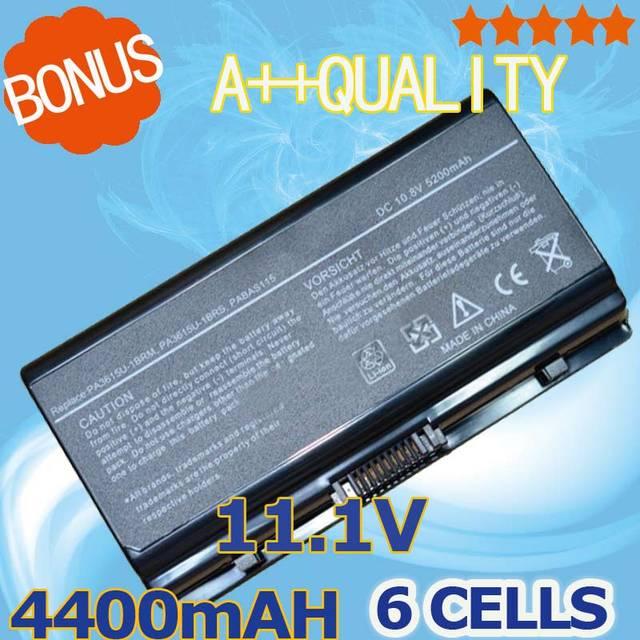 4400 mah batería del ordenador portátil para toshiba pa3615u pa3615u-1brm pa3615u-1brs pabas115 para equium l40 satellite l40 l45