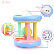 1 Pc Bed Hand Bells 0-12 Months Baby Rattle Toys Cute Mobile Teether Early Education Toy For Newborn Gifts Cindy Color
