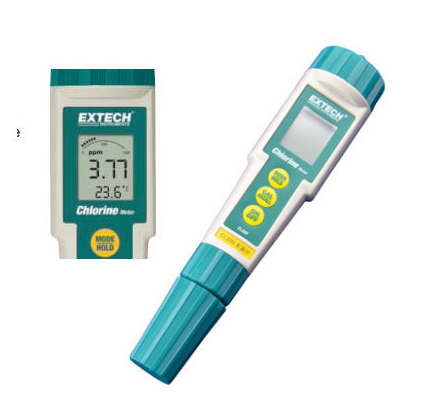 Free Shipping pH Chlorine ORP Temp Meter Tester Analyzer 4 in 1 water quality test kit skin, meat, fruit, cloth, paper, cheese