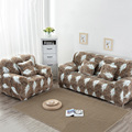 Loveseat Sofa Cover Fall and Winter Soft Slipcover Furniture Protector Elastic Couch Cover Single/Two/Three/Four-seater 1-Piece