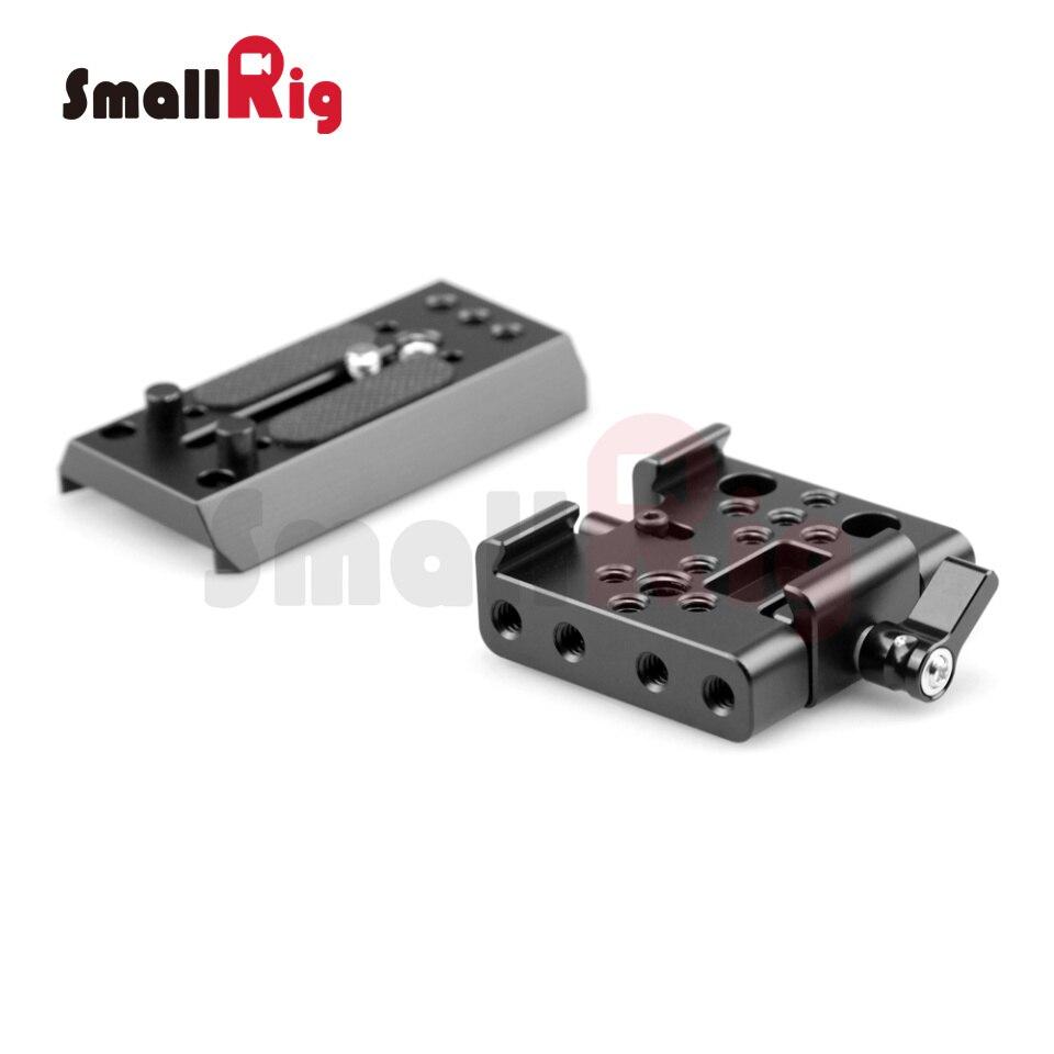 bilder für SmallRig Manfrotto Standard QR Platte kompatibel mit 501PL Platte und 501 PLONG Zubehör Platte Stativ Einbeinstativ-1503