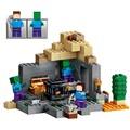 MI MUNDO 237 unids La Mazmorra Steve Zombie Minecrafted Bloques de Construcción de Ladrillos de Juguete de Regalo Niños
