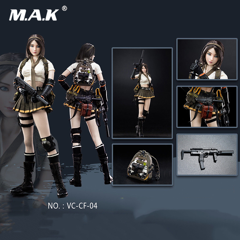 Full set VERYCOOL VC-CF-04 1:6 Scale Cross Fire Double Agent ZERO Figure collection Model Toy Doll Gift