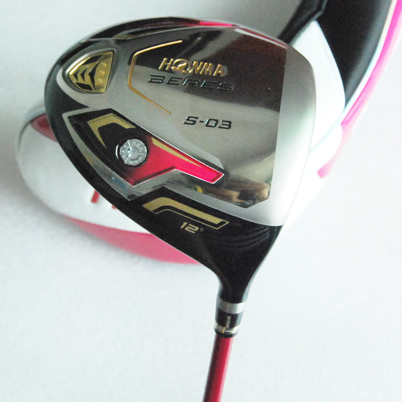 Подробнее о New Womens Golf Clubs HONMA S-03 Golf Driver 12 loft Graphite shaft R or S flex driver clubs and Golf headcover Free shipping new golf clubs honma is 02 golf hybrids wood or 16 22 25 1pcs lot graphite golf shaft and clubs grips free shipping