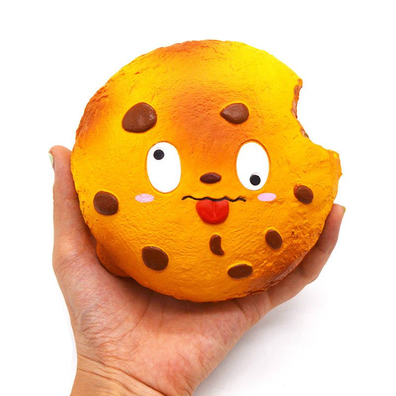 13.5CM New Kiibru Rare Cookie Squishy Cartoon Super Slow Rising Kawaii Face Original Package Christmas Gift Kids Toy 1PCS