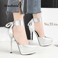 2018 women cute sweet comfortable spring & summer high heel shoes lady fashion platform black high heel shoes cool shoes e2598