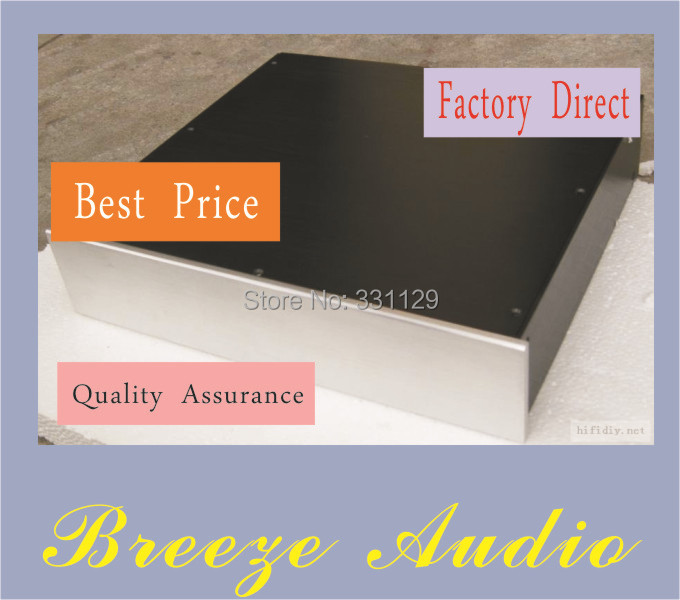 Breeze audio-width 430 height 90 depth 300preamp aluminum chassis  (aluminum enclosure) the front and rear panel is blank integrated geophysical and electrical depth slicing investigation