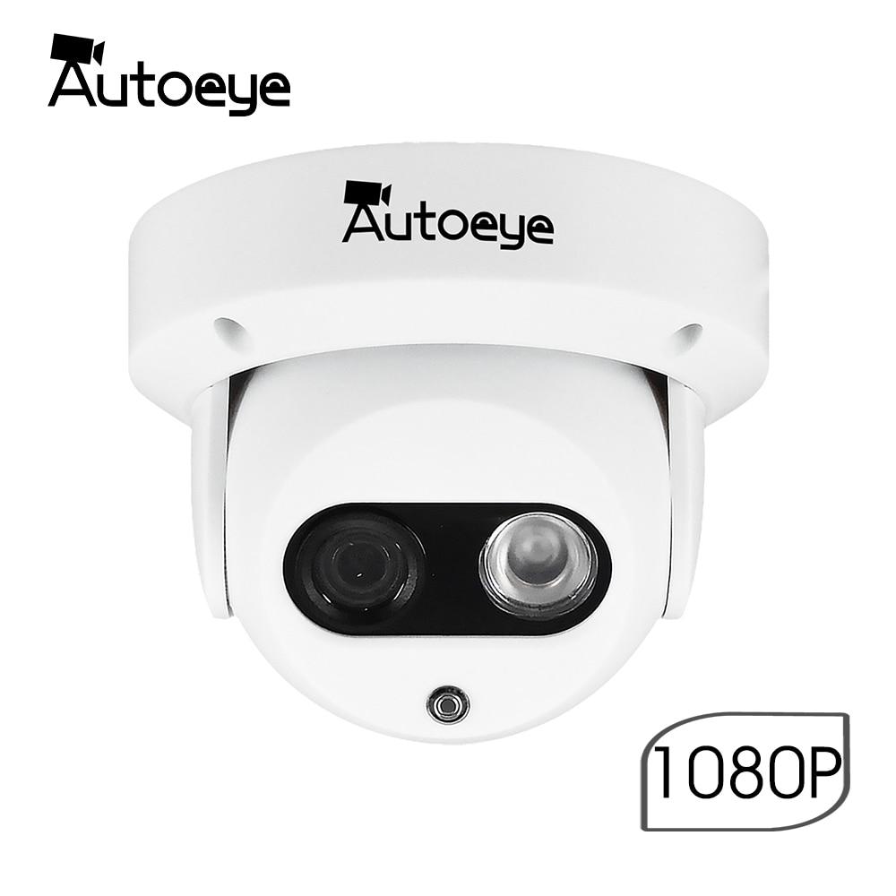 Autoeye 2.8mm PoE IP Camera 3MP 1080P Email Alert XMEye App Alarm ONVIF P2P Motion Detection RTSP 48V Surveillance CCTV Indoor