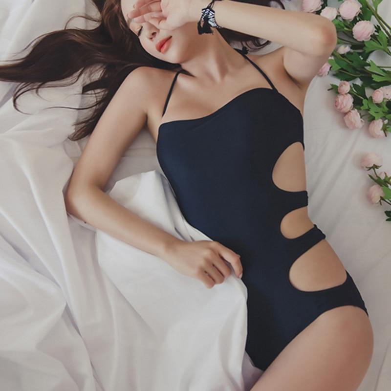 Korean style Suits triangle bikini suit sexy swimsuit female Slim swimsuit black suimsuits purple womens bathing suits