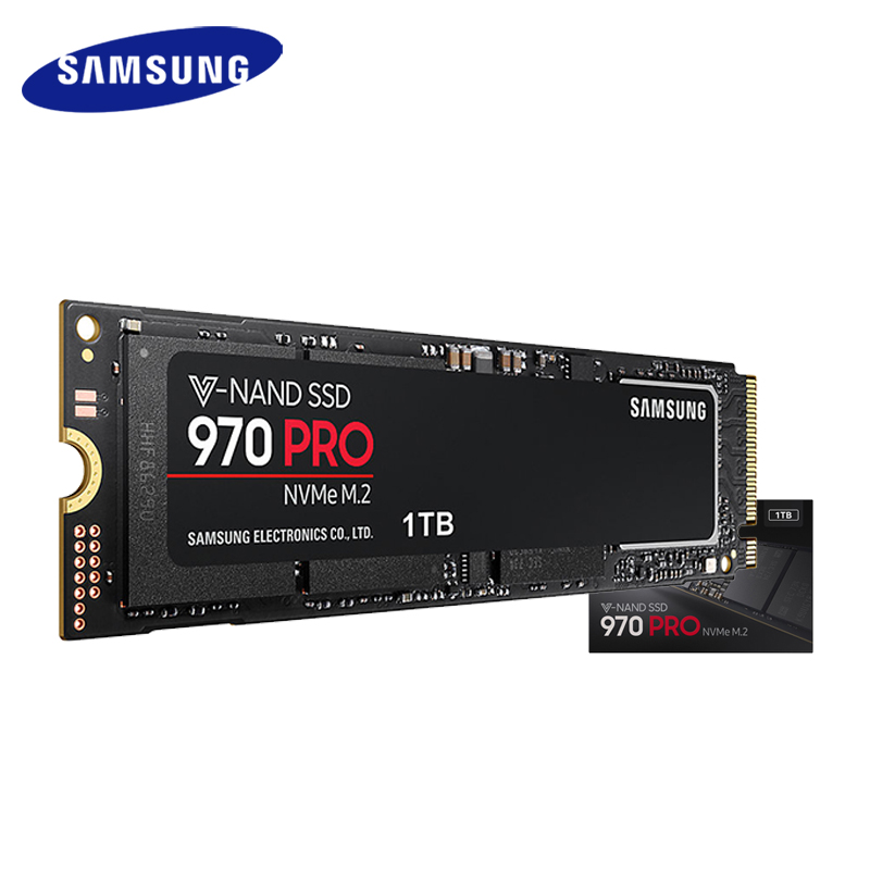 Samsung SSD 512 GB 1 TB 970 RPO NVMe M.2 3500 M/2300 M Interne SSD Solid State disque dur NVMe 970 RPO SSD PCIe 3.0x4, NVMe 1.3