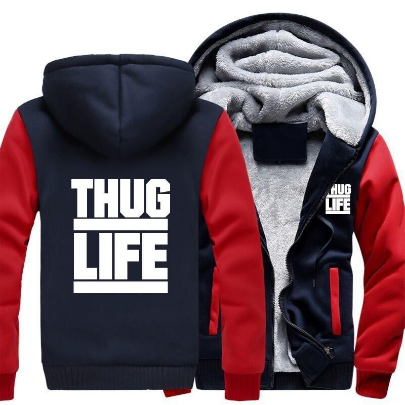 Drop shipping USA/EUR SIZE Men Hoodies, Sweatshirts Winter Keep Warm Thicken Hooded Coat Zipper Hoodies Jackets Casual Tops