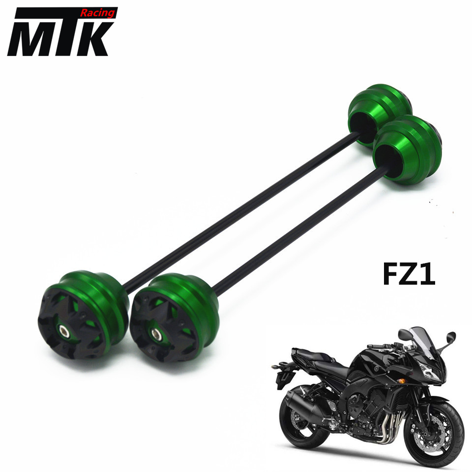 MTKRACING Free delivery for YAMAHA FZ1 2008-2015 CNC Modified Motorcycle Front wheel drop ball / shock absorber absorber cover cap front shock absorber cover cap for dynas 2008 2013 except 2008 fxdse