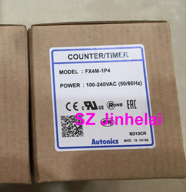 AUTONICS FX4M-1P4 Authentic original Count relay COUNTER/TIMER  100-240VAC (Replace FX4)AUTONICS FX4M-1P4 Authentic original Count relay COUNTER/TIMER  100-240VAC (Replace FX4)