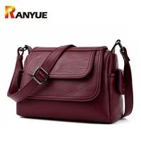 Luxury Brand Genuine Leather Bag Designer Handbags High Qualiry Single Shoulder Bag Women Messenger Crossbody Bags