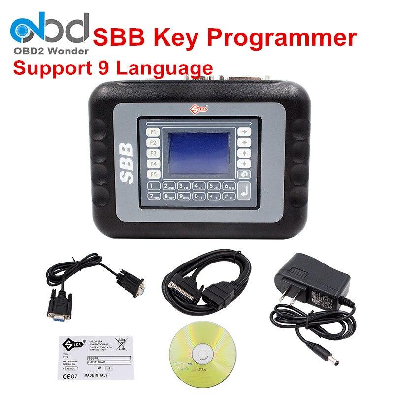 Цена за Последние Silca SBB Ключевые программист V33.02 программист для иммобилизации SBB Авто ключ производитель для мультибрендовый Автомобили Бесплатная доставка