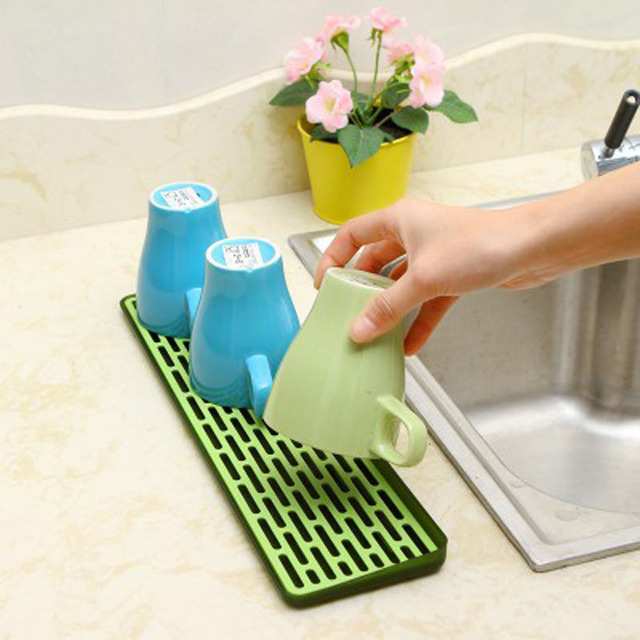 Household Hollow Dipped Water Tray Plastic Cup Tray Shelves Cup Holder Double-layer Plastic Draining  sc 1 st  AliExpress.com & Household Hollow Dipped Water Tray Plastic Cup Tray Shelves Cup ...