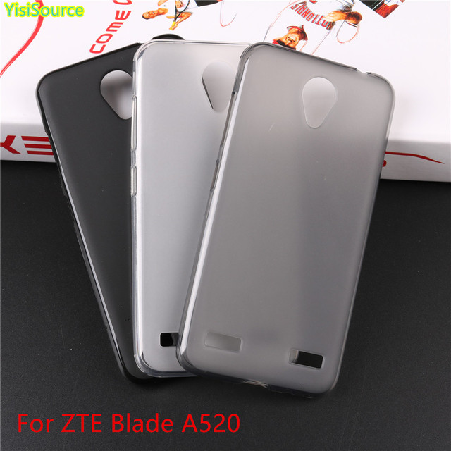 Yisisource New Arrival for ZTE A 520 A520 Soft TPU Phone Case for ZTE Blade A520 Silicone Back Protective Cover Skin Capa