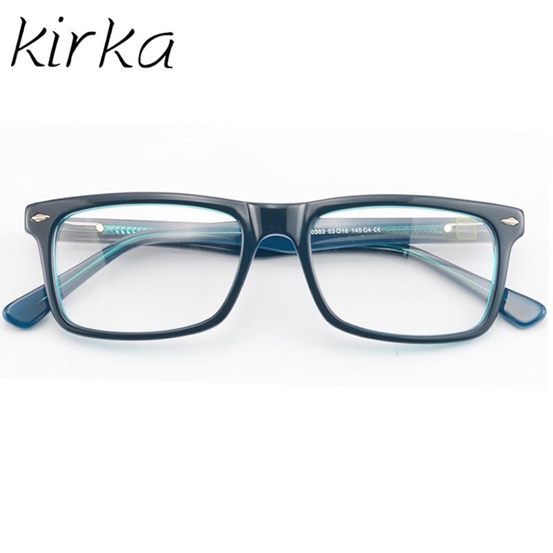 Kirka Nice Typ Män Glasses Frame Retro Designer Myopi Märke Optisk - Kläder tillbehör - Foto 4