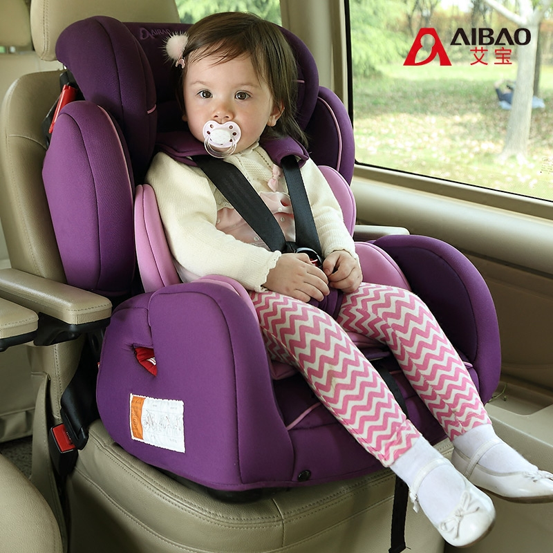 AIBAO Top Quality Child Safety Car Seat With ISOFIX, Baby Chair Used for Automatic, Carseat big discount factory direct baby car seat hot sale top quality baby comfortable seat child safety seat safety car seat for baby