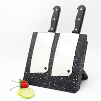 New Wood Magnet Knife Block Collapsible Multifunction Magnetic Knife Holder Stand Rack Bamboo Accessories Chef Supplies