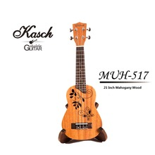 "Kasch 21 ""Compact Ukulele Ukulele Hawaiian Mahagoni Aquila Palisander Griffbrett Brücke Sopran Saiten Instrument 4 Saiten"