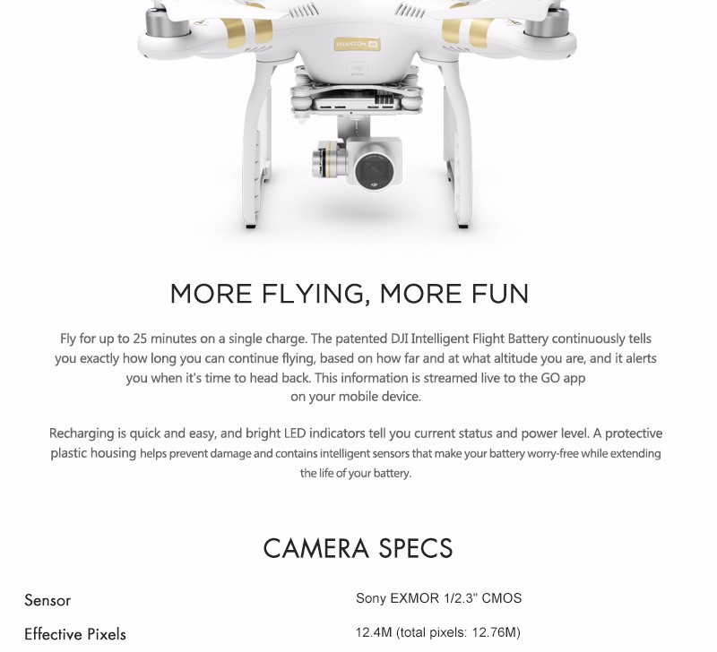 DHL EMS Free DJI Phantom 3  4K Version Quadcopter Helicopter RC Drone 4K Camera PK Phantom 2 vision + walkera q500