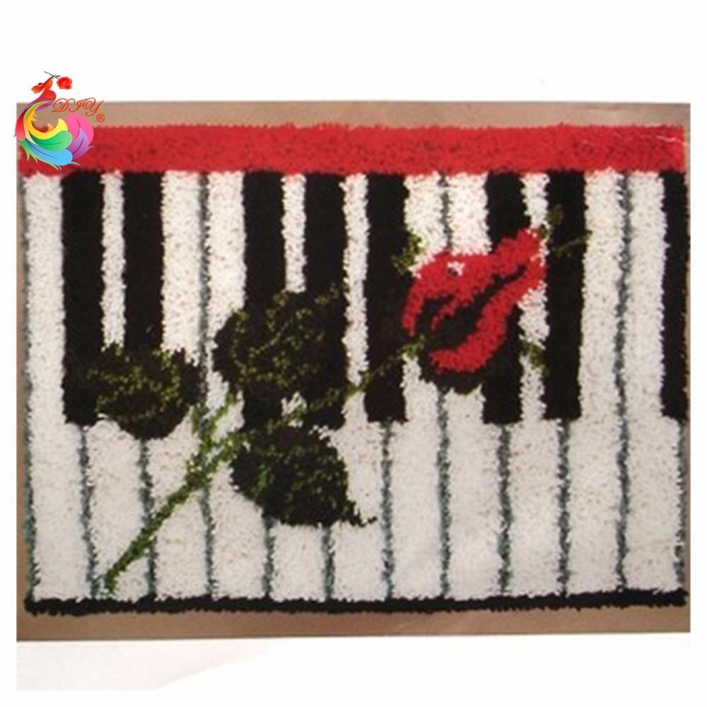 Latch hook rug kits cushion rug for