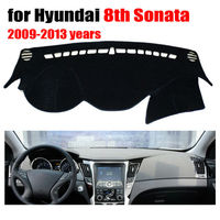 Car dashboard covers mat for Hyundai 8th Sonata 2009-2013 Left hand drive dashmat pad dash cover auto dashboard accessories