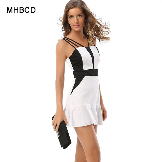 MHBCD Summer Women Patchwork Sexy Dresses Plus Size Female Club Beach Dress  Ukraine Fashion Office Dress Clothes 63420ca9ed18