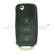 Автомобиль дистанционного ключа 300 959 753AA HU66 3 кнопки 434 мГц для VW Touareg remtekey