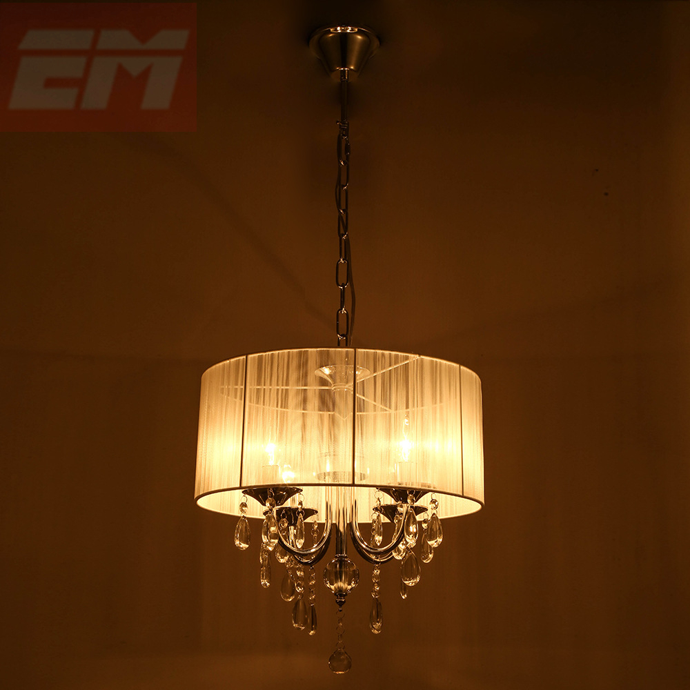 Modern Crystal Chandelier Light For Dining Room E14 Crystal Chandeliers Living Room Round Lights Curtain Lights WPL091 modern crystal chandelier led hanging lighting european style glass chandeliers light for living dining room restaurant decor