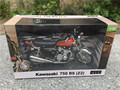 Automaxx 1:12 Kawasaki 750 RS-P Z2 Motorcycle Model Red New in Box