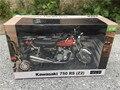 Automaxx 1:12 kawasaki 750 rs-p z2 modelo de moto vermelho novo na caixa