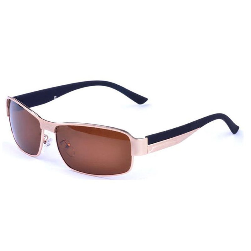 ФОТО 5 x (driving glasses polarized men sunglasses outdoor sports goggles eyewear-gold