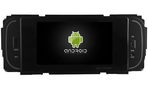 Apto para CHRYSLER JEEP DODGE OTOJETA android 8.1 Wifi versão dvd player do carro gravador GPS auto-rádios com luz verde